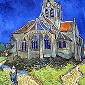 梵谷的圖--奧維爾‧舒‧歐斯教堂.jpg