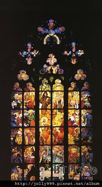 布拉格的教堂玻璃彩繪.jpg