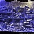 海生館的沈船廢墟