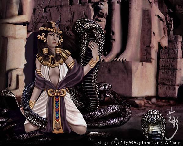 埃及眼鏡蛇女神--瓦潔特Wadjet