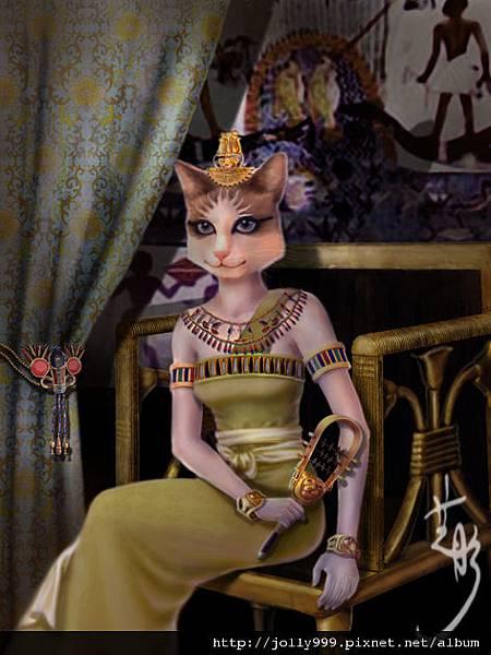 埃及貓首女神─巴絲塔特(Bastet)