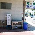 超商旁的熱水機
