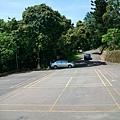 慈暉樓旁的停車場