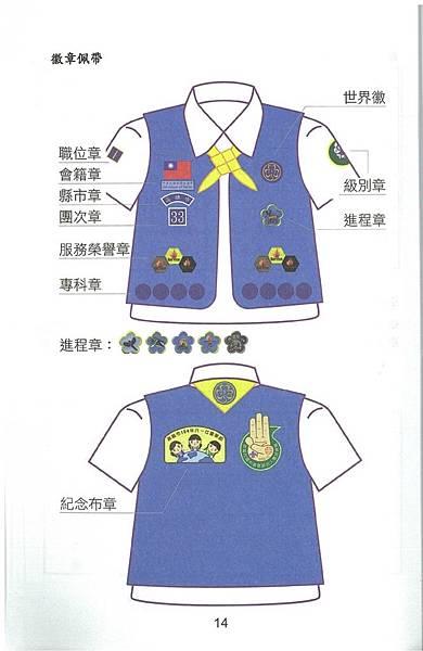 女童軍制服配備