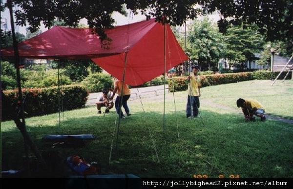 專科考驗營 -- 露營(一)