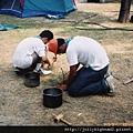 考驗 -- 露營架灶