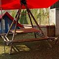 營地建設 -- 四角餐桌