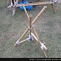營地建設 -- 臉盆架