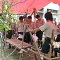 高雄市94年寒假童軍高級考驗營 -- 營地工程 (一)