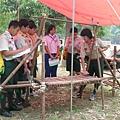 高雄市94年寒假童軍高級考驗營 -- 營地工程 (二)