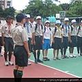 民族國中營地 -- 開訓典禮
