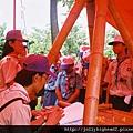 高雄市93年暑期童軍高級考驗營 -- 營地工程