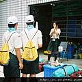 高雄市93年暑期童軍高級考驗營 -- 領取器材