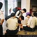 高雄市93年暑期童軍高級考驗營 -- 報到