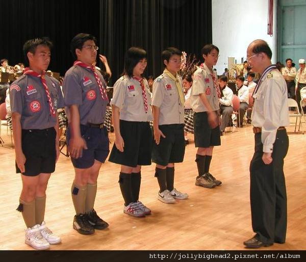 92年童軍節 -- 晉升獅級伙伴
