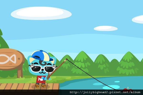 Pet Society -- 釣魚 1