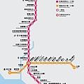 高雄捷運車站簡圖