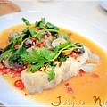 檸檬剁椒紙蒸魚