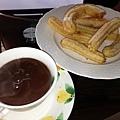 Homemade Chocolate con Churros 2