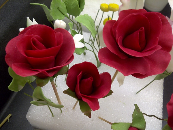 Gum Paste Flowers-Roses
