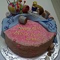 Morris' Birthday Cake 11/27/2010-1
