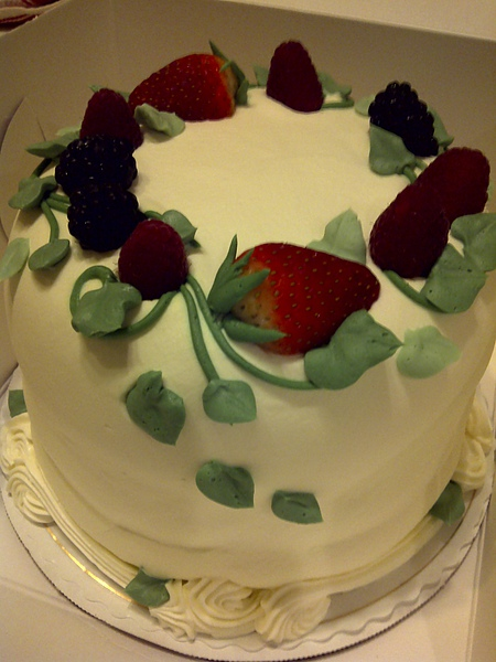 Sweet Lady Jane's Triple Berry Cake 1
