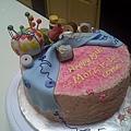 Morris' Birthday Cake 11/27/2010-2