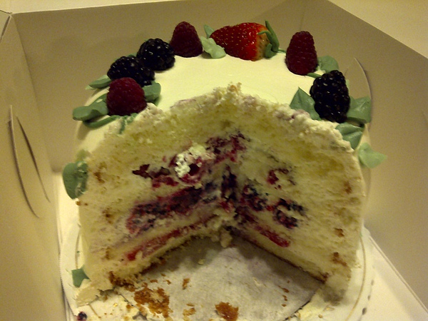 Sweet Lady Jane's Triple Berry Cake 2