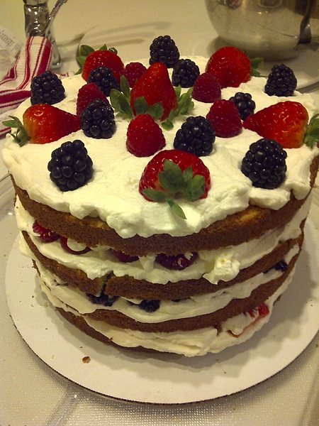 My Triple Berry Cake -11/3/2010 (1)