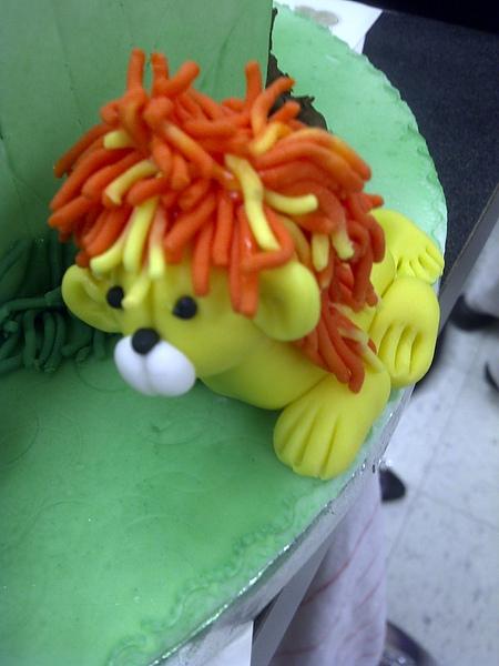 Fondant Modeling-Lion
