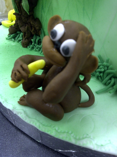 Fondant Modeling-Monkey