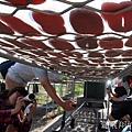 雲林湖口海味漁鄉樂遊趣~馬蹄蛤主題館摸蜆仔、第一鰻波餵魚、火烤烏魚子、體驗農種、品嚐龍膽石斑特餐與成龍溼地看落日