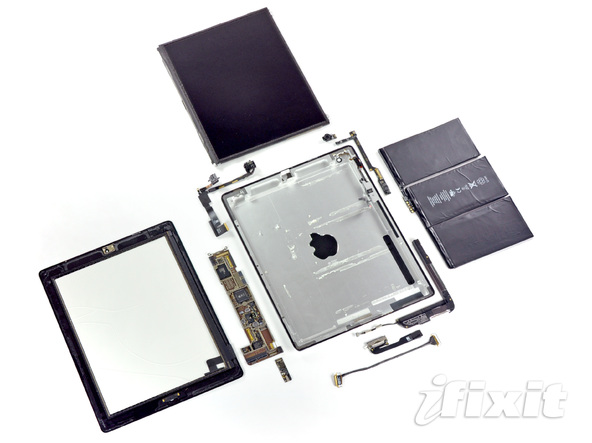 iPad 2 被拆解