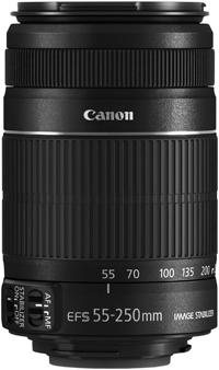 Canon EF-S 55-250mm f/4-5.6 IS II 發表