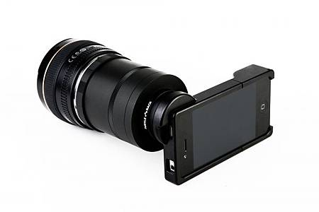 iPhone 4 SLR鏡頭轉接環