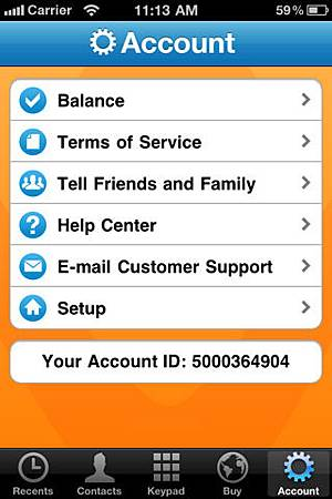 Vonage Time to Call app 推出
