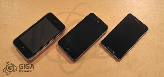 iPhone 5 模型機