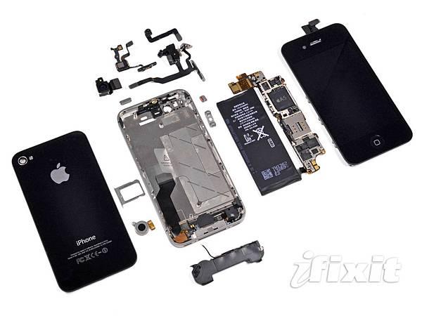 iPhone 4S 被拆解
