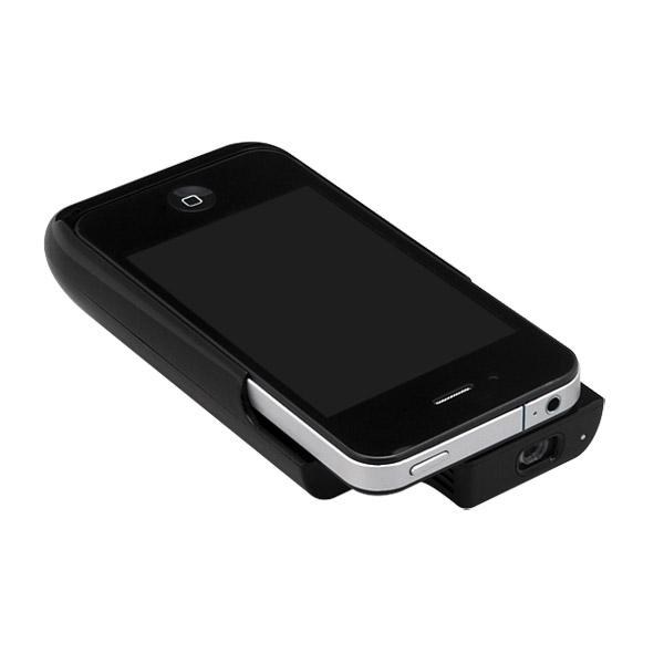iPhone 4 微型投影 電池 保護殼
