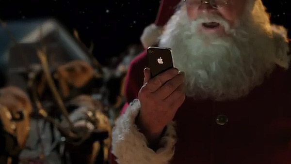 聖誕老人也用iPhone 4S Siri