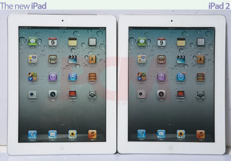 iPad 3代 搶先測試