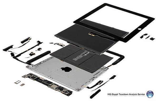 iPad 3代 成本316美金