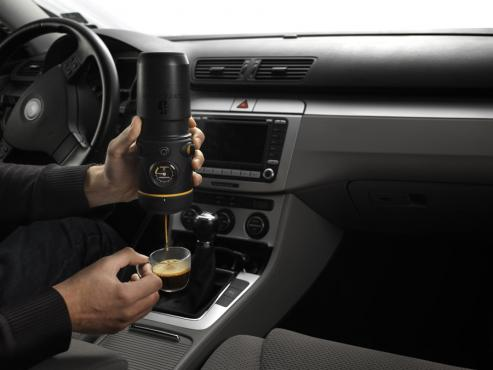 Handpresso Auto - The espresso machine for the car