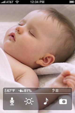 iPhone, iPad 嬰兒 監視器
