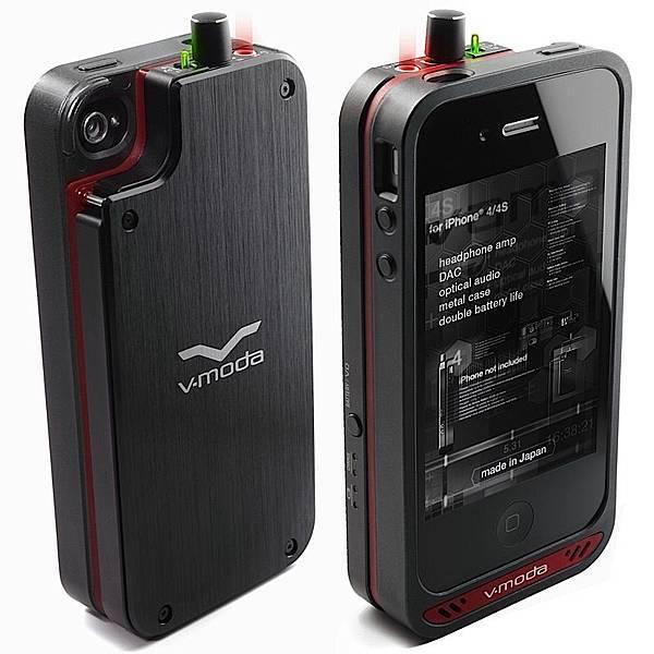 iPhone 4, 4S 耳機 Amp, DAC 電池保護殼
