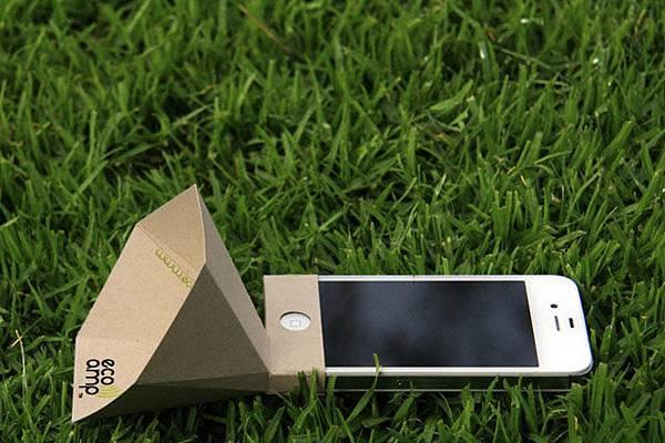 iPhone 環保擴音喇叭eco-amp
