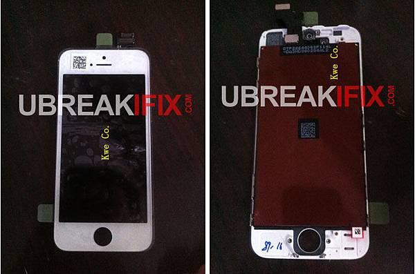 iPhone 5 4吋螢幕流出