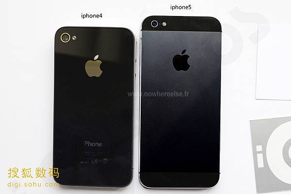 iPhone 5, 4S, 3GS 比較