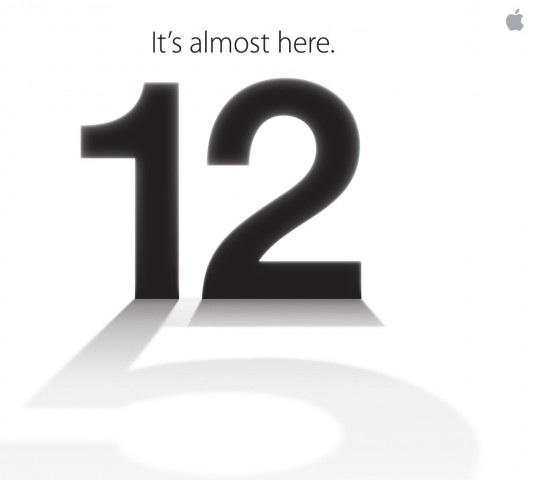 iPhone 5 9/12發表