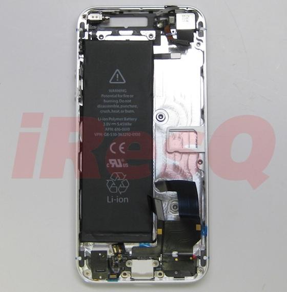 iPhone 5 電池流出